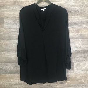 Pleione Black blouse size XL
